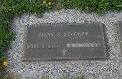 Mary A <i>Rider</i> Sterner