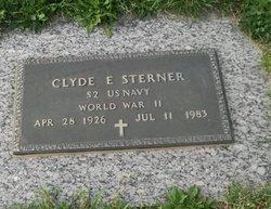 Clyde E Sterner