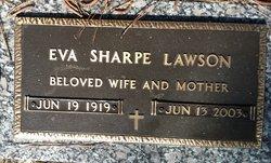 Eva Sharpe Lawson