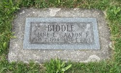 Aaron R Biddle