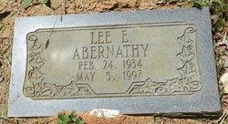 Lee E Abernathy
