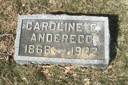 Caroline E <i>Hock</i> Andregg