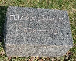 Eliza A. <i>Knight</i> Churchill
