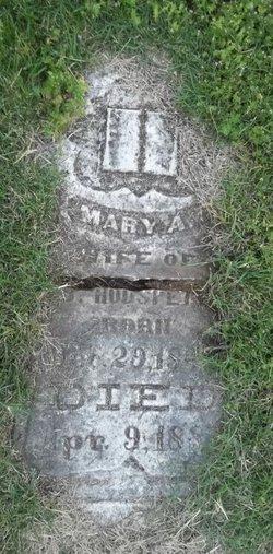 Mary Ann <i>Scott</i> Hudspeth