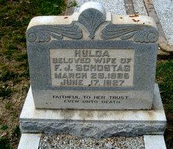 Hulda <i>Boldt</i> Schostag
