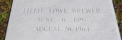 Lillie Lee <i>Lowe</i> Brewer