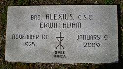 Br Alexius (Erwin) Adam