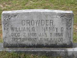 Nancy C <i>Harris</i> Crowder