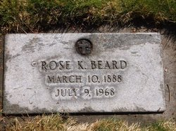 Rose K. <i>Goerling</i> Beard