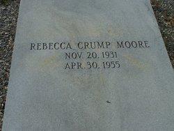 Rebecca <i>Crump</i> Moore
