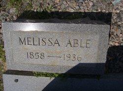 Melissa <i>Gunter</i> Able