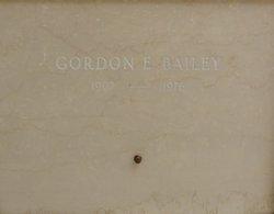 Gordon Edwin Bailey