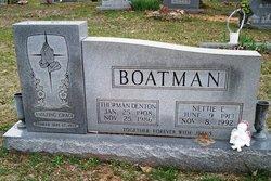 Nettie E. <i>Hatcher</i> Boatman