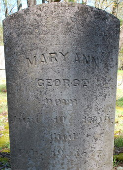 Mary Ann <i>McPheron</i> George