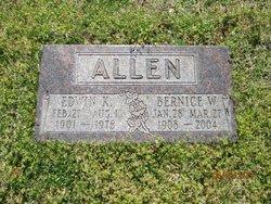 Bernice W <i>Combs</i> Allen