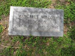 Margaret <i>Wilcox</i> Brogdon