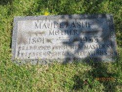 Maude <i>Ring</i> Ashe