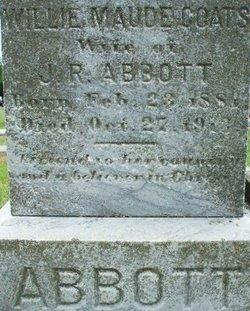 Willie Maude <i>Coats</i> Abbott