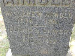 Bertha L. <i>Oliver</i> Arnold