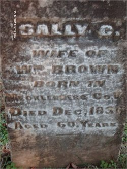 Sally <i>Hutcheson</i> Brown