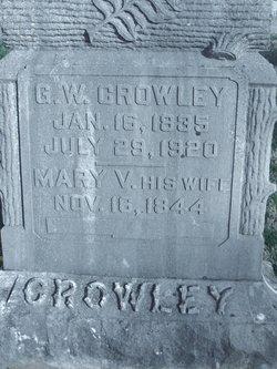 Mary Virginia <i>Mounts</i> Crowley