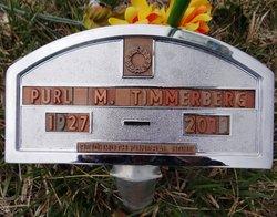 Purl M. Wahoo Timmerberg