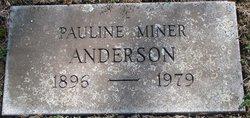Pauline <i>Miner</i> Anderson