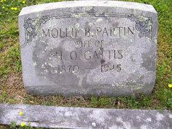 Mollie B <i>Partin</i> Gattis