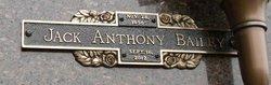 Jack Anthony Tony Bailey