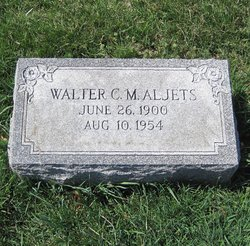 Walter C M Crow Aljets