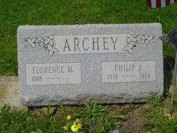 Florence M <i>Olson</i> Archey