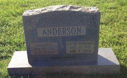 Hattie <i>Robinson</i> Anderson