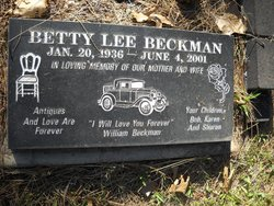 Betty Lee Beckman