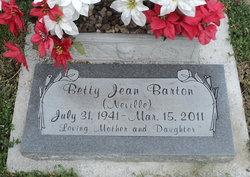 Betty Jean <i>Neville</i> Barton