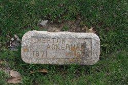 Merton J Ackerman