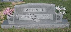 Jack Edward McDaniel