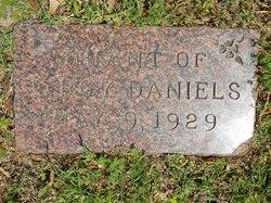 Infant Daughter Daniels