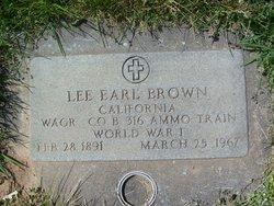 Lee Earl Brown
