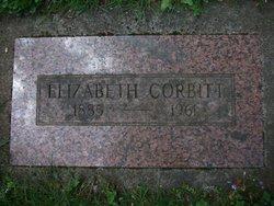 Elizabeth Lizzie <i>Meggett</i> Corbett