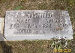 Mary <i>Guice</i> Armfield
