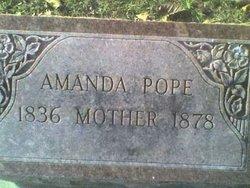Amanda <i>Cox</i> Pope