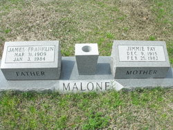 Jimmie Fay <i>Tedford</i> Malone