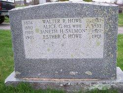Walter R Howe
