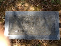 Maggie Bell <i>Pate</i> Carroll