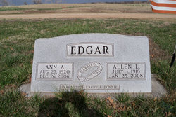 Allen Leon Edgar