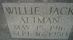 Willie Jack Altman