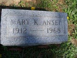Mary K. <i>Rambo</i> Ansel