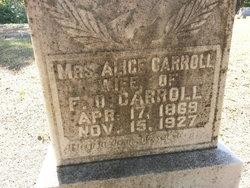 Alice <i>Overton</i> Carroll