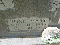 Rose Mary <i>Moore</i> Pegoda