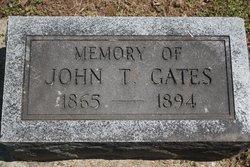 John T Gates